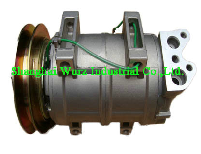 DKS15D compressor for Hitachi Crane 1GV 24V 137mm​